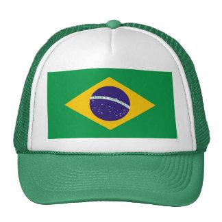 Bandera brasileña gorra