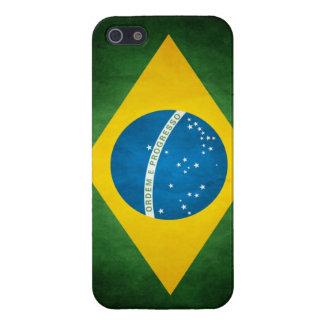 bandera brasileña iPhone 5 funda