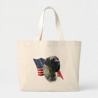Bandera (brindle) del mastín bolsa