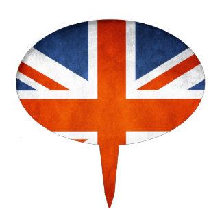 Bandera BRITÁNICA Decoración De Tarta