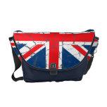 Bandera británica apenada bolsa de mensajeria