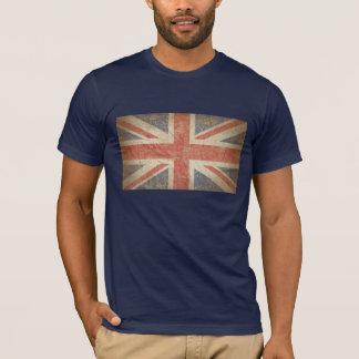 Bandera británica apenada playera
