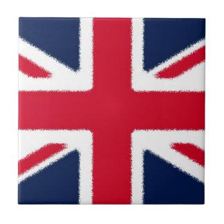 Bandera británica azulejo