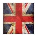 Bandera británica azulejos