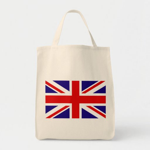 Bandera BRITÁNICA Bolsa Lienzo