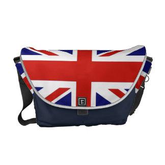Bandera británica bolsas messenger