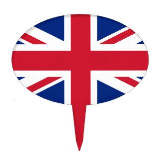 Bandera británica BRITÁNICA de Union Jack Decoración De Tarta
