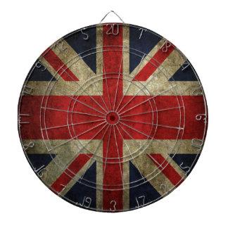 Bandera británica BRITÁNICA de Union Jack de la an Tabla Dardos