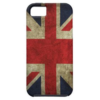 Bandera británica BRITÁNICA de Union Jack de la iPhone 5 Funda