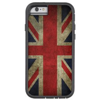 Bandera británica BRITÁNICA de Union Jack de la Funda De iPhone 6 Tough Xtreme