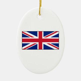 Bandera británica BRITÁNICA de Union Jack Ornamente De Reyes