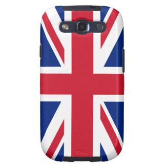 Bandera británica BRITÁNICA de Union Jack Galaxy SIII Protector