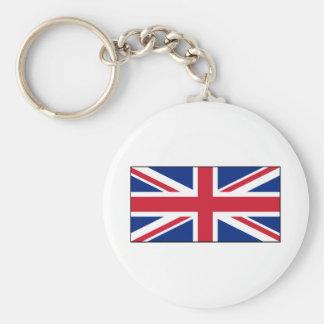 Bandera británica BRITÁNICA de Union Jack Llavero