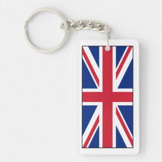 Bandera británica BRITÁNICA de Union Jack Llaveros