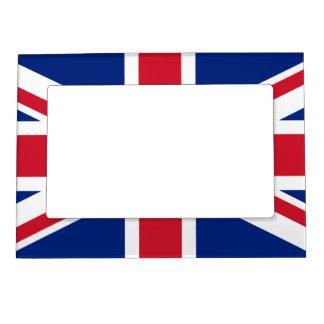 Bandera británica BRITÁNICA de Union Jack Marcos Magnéticos Para Fotos