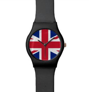 Bandera británica BRITÁNICA de Union Jack Reloj