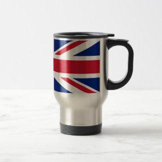 Bandera británica BRITÁNICA de Union Jack Taza De Café