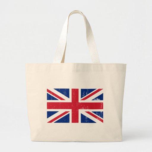 Bandera británica BRITÁNICA del inglés de Gran Bre Bolsa