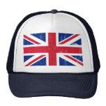 Bandera británica BRITÁNICA del inglés de Gran Bre Gorras
