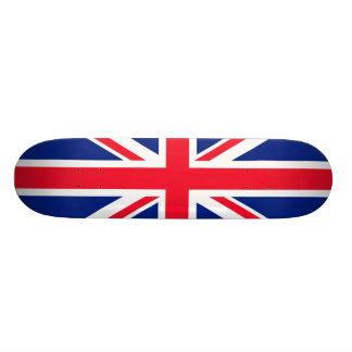 Bandera británica BRITÁNICA del inglés de Gran Bre Monopatin