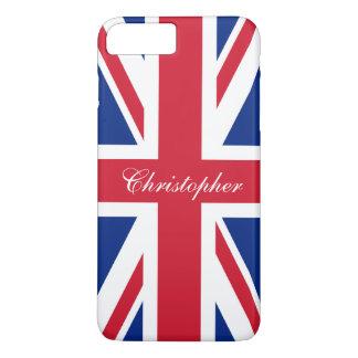 Bandera británica BRITÁNICA Union Jack de Reino Funda iPhone 7 Plus