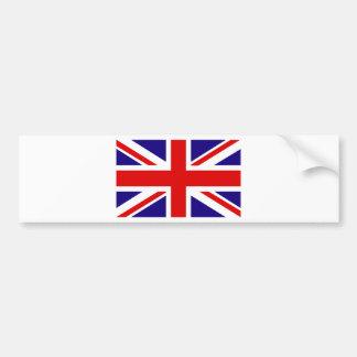 Bandera BRITÁNICA Etiqueta De Parachoque