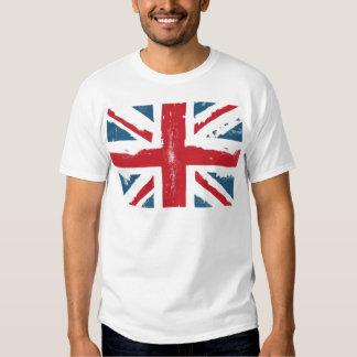Bandera británica camisas