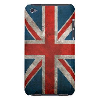 Bandera británica clásica apenada de Union Jack iPod Touch Case-Mate Cárcasa