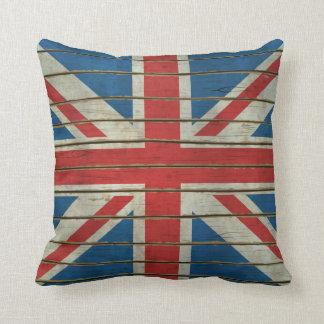 Bandera BRITÁNICA Cojín Decorativo