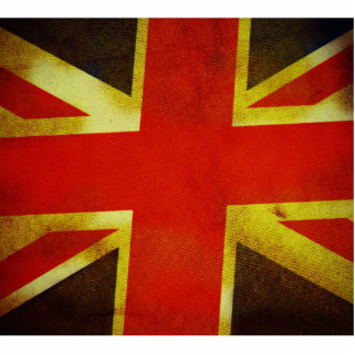 Bandera BRITÁNICA de Inglaterra Esculturas Fotográficas