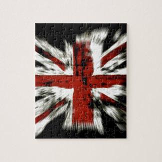 Bandera BRITÁNICA de Inglaterra Puzzle Con Fotos