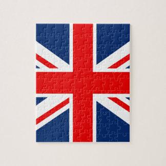 Bandera BRITÁNICA de Inglaterra Rompecabeza