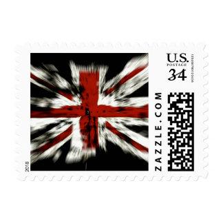 Bandera BRITÁNICA de Inglaterra Franqueo