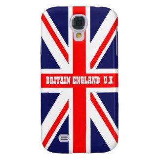 Bandera británica de Inglaterra Union Jack Gran Br Funda Para Galaxy S4