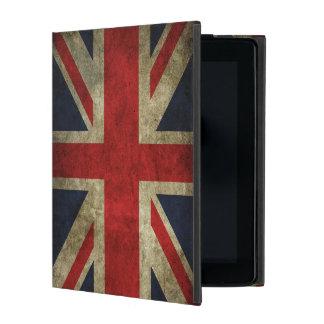 Bandera británica de Union Jack de Inglaterra Rein iPad Funda
