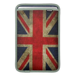 Bandera BRITÁNICA de Union Jack del Grunge del Funda MacBook