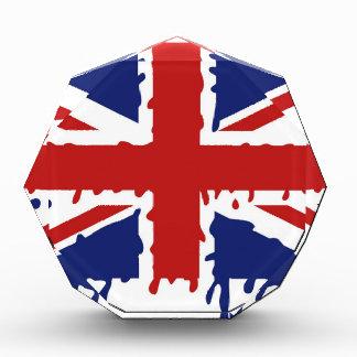 Bandera BRITÁNICA de Union Jack - goteo
