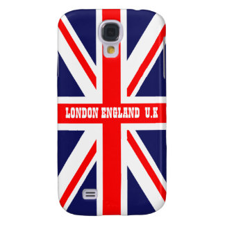 Bandera británica de Union Jack Gran Bretaña Londr Funda Para Galaxy S4