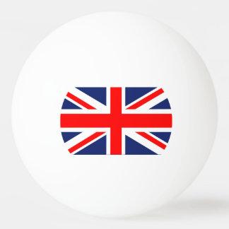 Bandera británica de Union Jack Pelota De Ping Pong