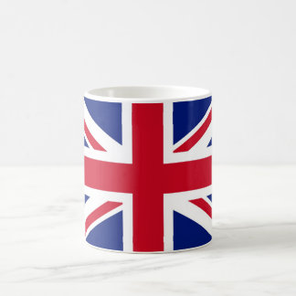 Bandera británica de Union Jack Taza