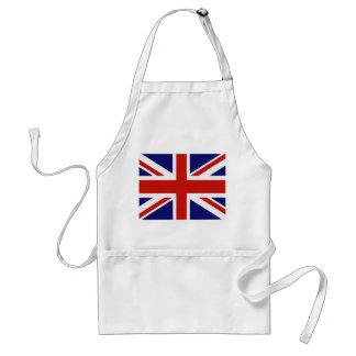 Bandera británica delantal