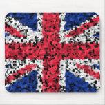 Bandera británica - estera del ratón alfombrilla de ratones