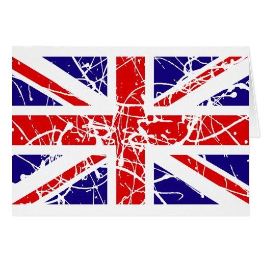 Bandera BRITÁNICA Felicitacion