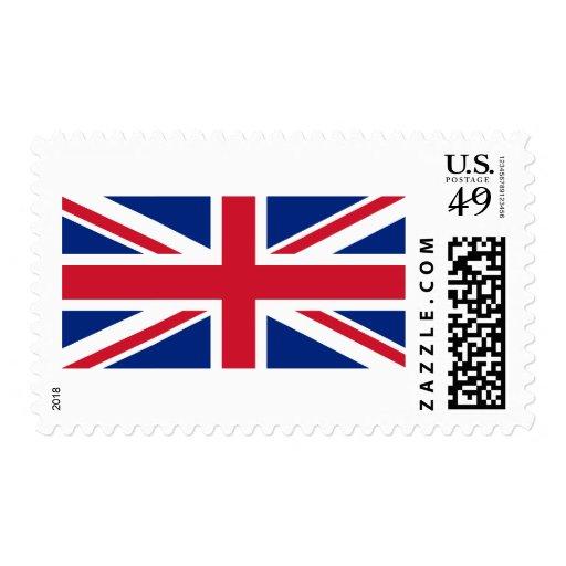 Bandera BRITÁNICA Franqueo