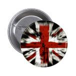 bandera británica fresca pin