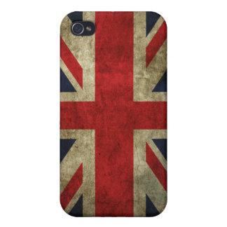 Bandera británica iPhone 4 funda
