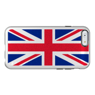 Bandera británica funda para iPhone 6 plus incipio feather shine