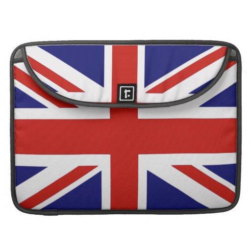 Bandera británica fundas macbook pro