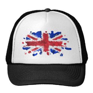 Bandera británica gorro de camionero