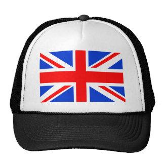 Bandera británica gorras de camionero